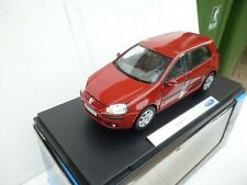 WELLY 1:18 AUTO DIE CAST VW GOLF V SERIE 2005 ROSSA ART.12548 New OVP