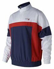 New Balance Men's Nb Athletics Windbreaker Pullover Red Size L