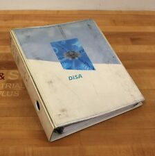 Disa Ds 1-438A/D Id No. 010280 Manipulator Blast Machine Components Manual