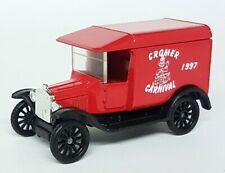 Matchbox 1/52 Scale 44 1921 Model T Ford Cromer Carnival 1997 Van China Diecast