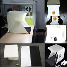 Portable Mini Photo Photography Light Box Studio Softbox With LED for Camera