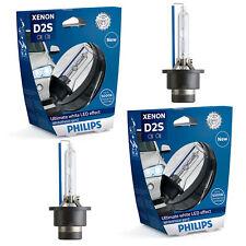 2 x Philips d2s Xenon whitevision gen2 auto lámpara 120% más visión 85122whv2s1