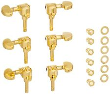 Grover 106G Locking Rotomatic Tuners/Machine Heads, 3-Per-Side, Gold