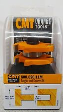 "CMT Tongue & Groove 1/2"" Router Bit 800.626.11M Orange Tools Carbide Tipped Z2"