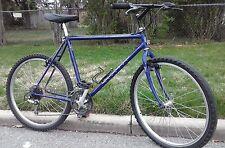BIANCHI MOUNTAIN BIKE old school IBEX VINTAGE LUGGED FRAME 20.5 - nice bike !!