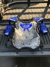 Fox Racing R3 Roost Deflector - Blue - LG