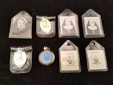 8 Relics Reliquia Saint Marguerite Bourgeboys, D'Youville, Leonie, Pere Eugene