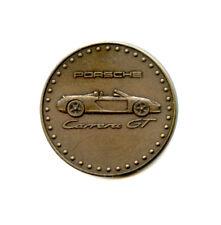 Medaille, PORSCHE Kalender Münze von 2002, Carrera GT, neuwertiger Zustand