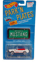 1988 Hot Wheels Park 'N Plates '65 Mustang Convertible