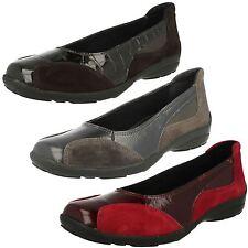 Para Mujer Ancho Grande Fácil B / DB Zapatos de Piel sin Cierres: Ripon