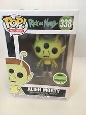 Funko Pop! Vinyl Figure - Animation #338 - Alien Morty - 2018 Spring Con Excl