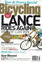 Bicycling Magazine Lance Armstrong More Energy Ride Strong Tour De France Legs