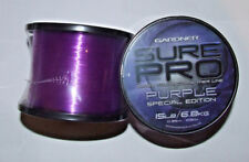 Gardner Sure Pro Purple Special Edition Main Line - Coarse, Carp, Salt Water