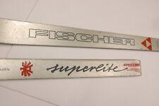 Fischer Superlite Skis 200cm no bindings 2 prior mounts