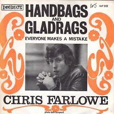 7inch CHRIS FARLOWE handbags and gladragsFRANCE (S1889)