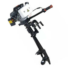 4HP 44CC 4 Stroke Engine With Air Cooling System Outboard Motor Finshing Boat