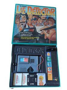 The Original Lie Detector Board Game Vintage 1987 Pressman Complete Excellent