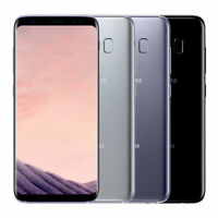 Unlocked Samsung Galaxy S8 64GB G950U 12.0 MP CAMERA BLACK GRAY SILVER 4G LTE