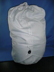 White Extra Large Heavy Duty Laundry Bag Sack Drawstring Commercial Washable