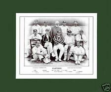 MOUNTED CRICKET TEAM PRINT - HAMPSHIRE - 1895
