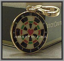 Juicy Couture 2011 Dartboard Dart Bracelet Charm Authentic Retired