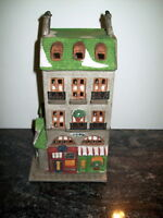 1987 DEPT.56 CHRISTMAS IN THE CITY PET STORE/TAILOR