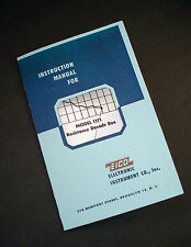 EICO Model 1171 Resistance Decade Box Instruction Manual