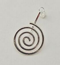 Silver-Plate Donut Bead Bail Large 25 x 40mm