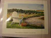 Art Print of Watercolor-Glory Country - 1997- Artist BJ Stych, Lincoln NE USA