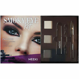Smoky Eye Kit All-in-One Set Augen Lidschatten Eyeliner Mascara Pinsel Anleitung
