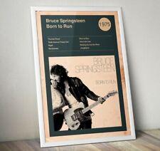 Bruce Springsteen Poster, The Boss Print, Bruce Springsteen Album Cover Art