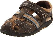 NIB Stride Rite Shoes Fisherman Sandals Dillan Brown Stone 4.5 M