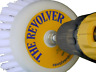 The REVOLVER POWER SCRUB DRILL BRUSH-CLEAN SHOWER,TILE, GROUT, TRUCK, RV & BOAT!