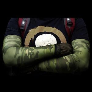 Kriegshäuptling Camouflage Reiten Arm Warmers Arm Ärmel schnell trocken UV Sport