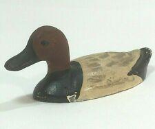 Vintage Duck Decoy Miniature Cast Iron  (Salesman's Sample)