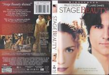 DVD: STAGE BEAUTY......BILLY CRUDUP-CLAIRE DAMES