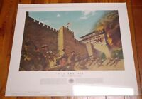 Vintage 1956 US Army In Action 'I'll Try Sir' BOXER REBELLION Color Poster #13