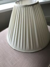Cream Pleated Empire Lamp Shade Excellent Condition