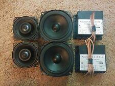 Canton Pullman car speaker set W130 & W100CX & RS3.13-3.16