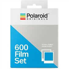 Polaroid Originals 4844 Color + Black & White 600 Instant Film Set -16 Exposures
