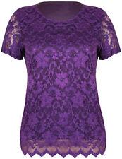 Short Sleeve Casual Regular Size Tops & Shirts for Women