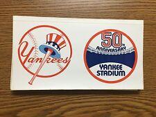 1973 New York Yankees 50th Anniversary Stadium Baseball Sticker