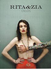 PUBLICITE ADVERTISING 025  2014  RITA & ZIA  chaos  joaillier