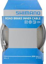 Shimano Cable de freno Road PTFE acero inox. 1,6mm x 2050mm EMB.ORIG, Bicicleta