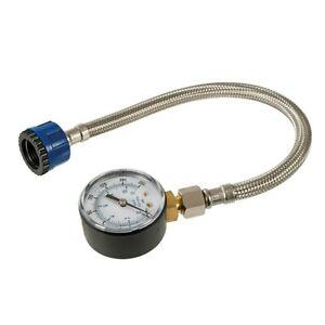 MAINS WATER PRESSURE TEST GAUGE PLUMBING MESURING TAP TESTER 0-11Bar 0-160psi