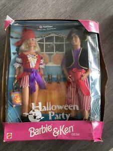 1998 Mattel BARBIE & KEN HALLOWEEN PARTY Gift Set Target Special Edition NRFB