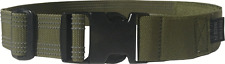Tactical Leg Strap with Military Side Release Buckle Made in USA Olive Green