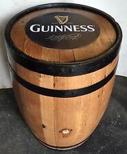 Refurbished Guinness Branded Solid Oak Whisky Barrel | Garden Furniture | Keg