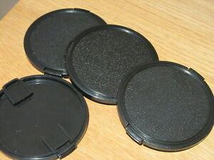 Bundle Of 4 82mm Lens Caps - Good Condition.