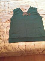 MEN'S DOCKERS PREMIUM 2 in 1 LAYERED GOLF SHIRT - Size Large (New With Tags)